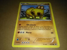 CARTA POKEMON NERO E BIANCO DESTINI FUTURI HIPPOPOTAS 65/99 ITALIANA