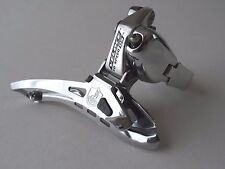 *NOS Campagnolo Veloce QS (titanium) 10 speed double front clamp-on derailleur*