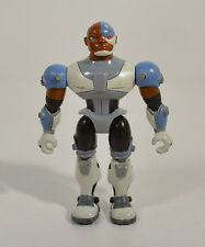 "2003 Cyborg 3.5"" Bandai Action Figure Dc Teen Titans Go Animated Series"