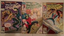 The Spectacular Spider-Man #191 - 193 (1992, Marvel) Eye of the Puma Part 1 - 3