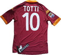 maglia roma Totti kappa 2012 2013 Serie A player issue shirt BNWT jersey XL new