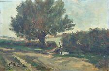 Armand MOIZAN (1870-1917) Paysage Paimpol Bretagne