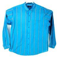 VINTAGE Levis Button Up Shirt Men's Size XL Striped WPL 423