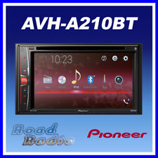 "Pioneer AVH-A210BT 6.2"" TouchScreen Double Din USB Bluetooth CD DVD iPod iPhone"
