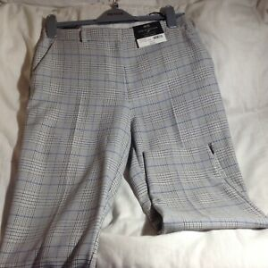 New Ladies Dorothy Perkins check Ankle Grazer Trousers size 8-16 bnwt rrp £22