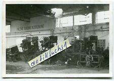 Foto : in einer Flugzeug-Montage-Halle des Flugzeugwerk Mielec in Polen 1939