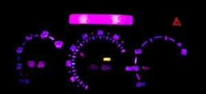 Pink Climate Control and Clock Led bulb Kit for Lexus IS300 (2001-2005)