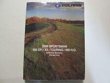 2008 Polaris SPORTSMAN 500 EFI X2 TOURING Shop Repair Service Manual Brand New