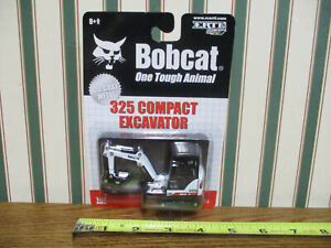 Bobcat 325 Compact Excavator By Ertl 1/50th Scale >