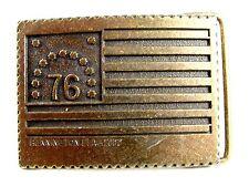 Bennington Flag 1777 '76 Belt Buckle 62514