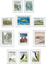 Faroe 1978 - 1981 Mnh Lot / Collection Of 12 Sets