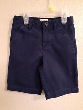 Cat & Jack Boys Navy School Uniform Shorts Size 5