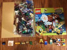 Lego 3825 SpongeBob SquarePants Krusty Krab 100% Complete Set W/ Instructions