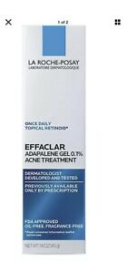 La Roche-Posay Effaclar Gel 0.1% Retinoid Acne Treatment - 1.6 Oz. Exp: 9/21