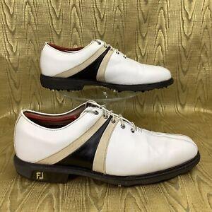 FOOTJOY SADDLE ICON Waterproof Leather STINGER Golf Shoes 52155 men's 10