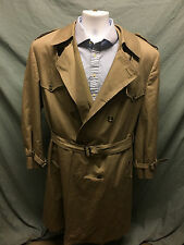 Christian Dior LE CONNAISSEUR Vintage Trench Coat Overcoat Size Gentleman's 46L