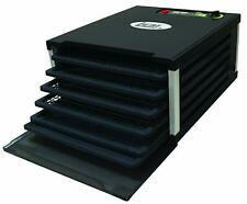 Lem Food Dehydrator 5 Tray 7 1/2 Sq. Ft. Drying Space Digital Timer 500W Black