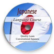 LEARN TO SPEAK JAPANESE - LANGUAGE COURSE - 12 HRS AUDIO MP3 4 BOOKS ON DVD 183
