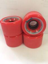 LUCID SKATEBOARD WHEELS: 60MM x 40MM 90A, RED