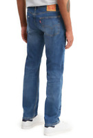NEW! Levis 505 Mens Regular Stretch Straight Leg Blue Medium Wash Jeans Sz 40x34