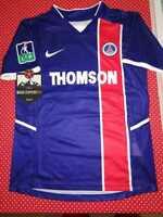 Maglia Ronaldinho PSG 2002-2003 Paris Saint Germain Calcio Brasile Vintage Retro