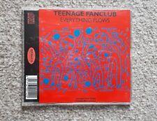 Teenage Fanclub Everything Flows 4 track CD Vaselines Pastels