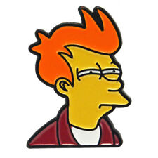 Phillip J Fry Enamel Pin Badge Futurama Metal Cartoon Brooch Gift Aussie Seller