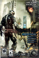 Crysis 2 (PC, 2011) Limited Edition PC DVD-ROM Crytek Mature Excellent Condition