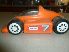 Vintage Little Tikes Tykes Car Racer Plastic for Dollhouse Stable Horse 12""