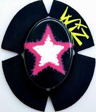 WIZ DUBSTAR WHT/PINK/BLK STAR KNEE SLIDERS