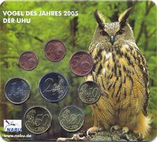Deutschland Euro KMS 2004 D -  Vogel des Jahres Uhu/Zaunkönig