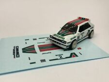 Decals for Hot Wheels Lancia Delta Integrale - Lancia Alitalia colours