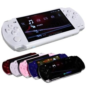 """8GB 4.3"""" Handheld PSP Game Console Portable Video Consoles Build in 1000 Games"""