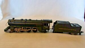 HO Scale Fleischmann 4-6-2 Steam Locomotive Pennsylvania, #1366 Black, Vintage