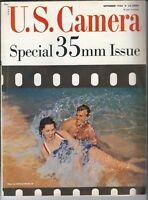 MG-168 U.S. Camera September 1956, Special 35mm Issue, Anita Ekberg, Leica