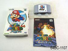 Complete Super Mario 64 Nintendo 64 Japanese Import Boxed Japan N64 US Seller C