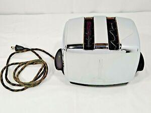 1955 Stamped Vintage Sunbeam Auto Drop T-20B Toaster ORIGINAL Cord TESTED WORKS