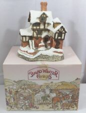 David Winter 1987 Special For Christmas Ebenezer Scrooge's Counting House w/box