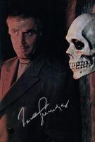 JOACHIM FUCHSBERGER signed Autogramm 20x30cm EDGAR WALLACE in Person autograph
