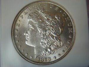 1878 cc Morgan Silver Dollar  NGC- MS62