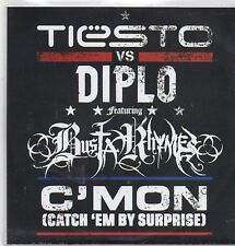 Tiesto v Diplo-C Mon Promo cd maxi single 4 tracks