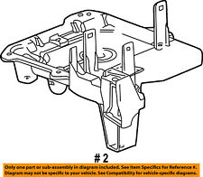 Jeep Chrysler Oem 03 05 Liberty 3 7l V6 Battery Tray 55360639aa Fits