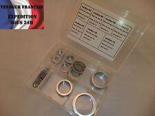 Joints aluminium ep. 1,5; diam interieur de 9,8 mm à 33,5 mm VENDEUR FRANCAIS