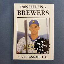 1989 Sports Pro HELENA Brewers #23 KEVIN TANNAHILL Albany CALIFORNIA