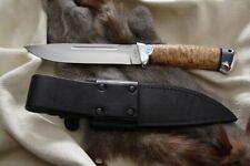 Russisches Messer, Jagdmesser A&R Zlatoust -- Eger Birke