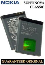Original Replacement Battery Nokia 2600 Classic 5300 6120 n75 n80 7510 Supernova bl-5bt