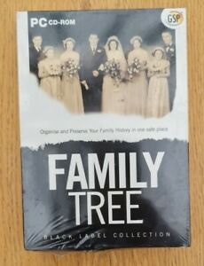GSP Family Tree Creator PC New & Sealed