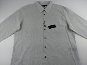 NEW JOHN VARVATOS 2XL Geometric Dot Dress Shirt Long Sleeve Button Up Q2
