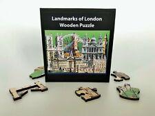 Landmarks of London PREMIUM QUALITY Laser-cut Wooden Puzzle - 40 pieces
