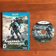 Xenoblade Chronicles X (Nintendo Wii U, complete in box with inserts)